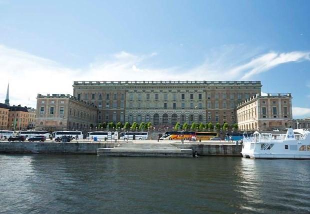 Palácio Real, Suécia (Foto: Stromma/ Reprodução)