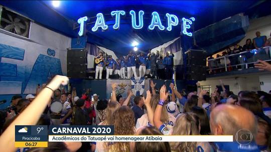 Acadêmicos do Tatuapé divulga tema do samba para o carnaval 2020