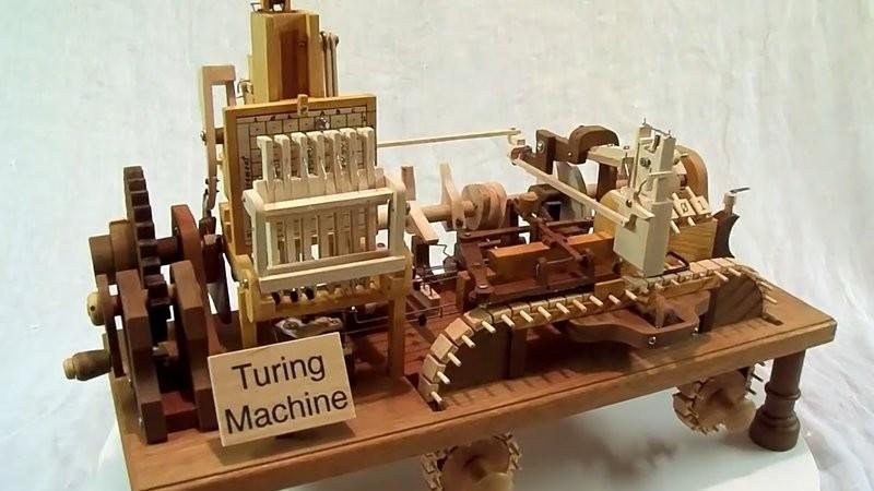 Máquina de Turing (Foto: Reprodução)