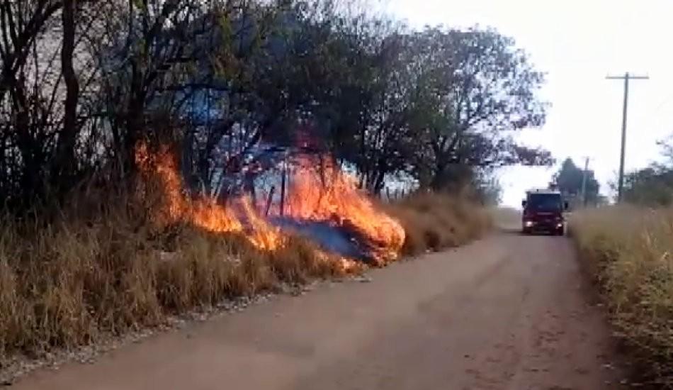 Fogo em São Carlos destrói 30 mil metros quadrados de mata, diz bombeiros