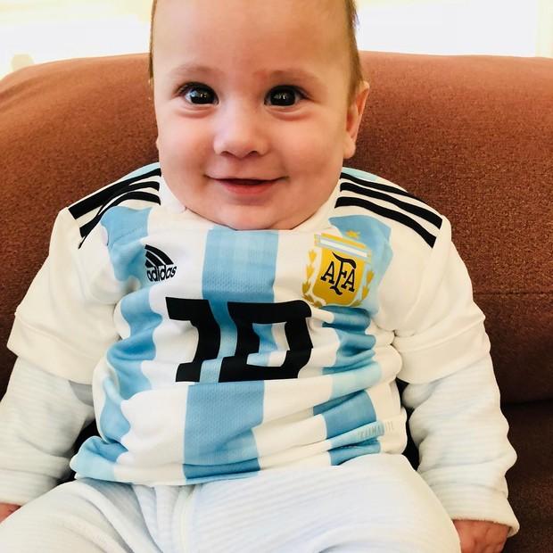 Filho de Messi (Foto: Reprodução/Instagram)