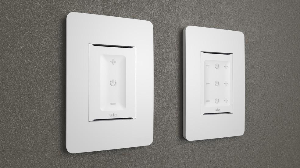 LightSense Touch é o modelo de parede da marca — Foto: Divulgação/Brilia