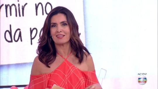 Fátima Bernardes revela o que o parceiro precisa entender quando está namorando com ela