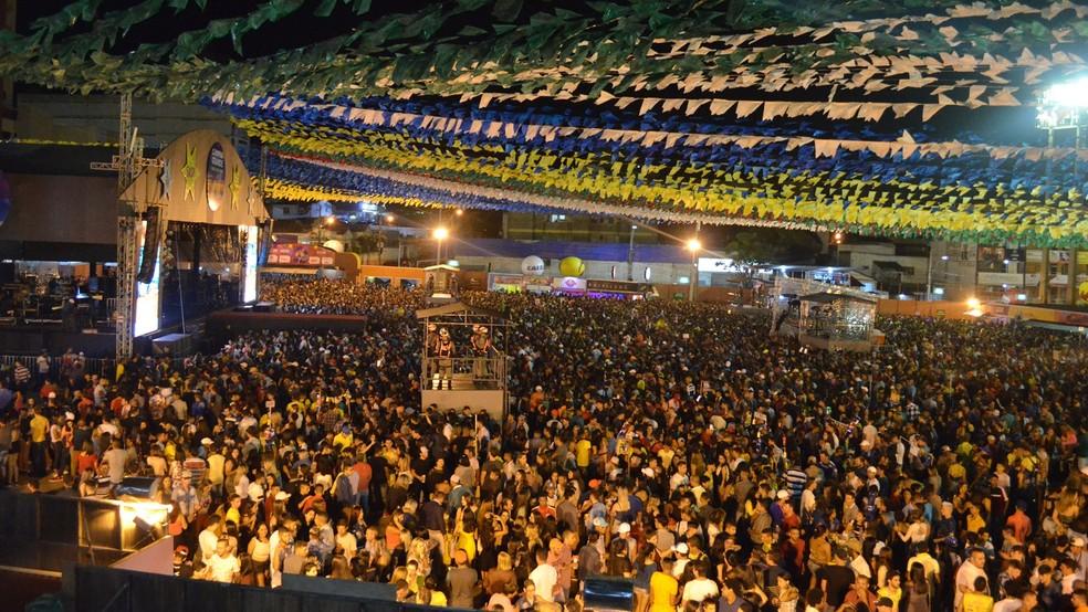 São João 2018 de Campina Grande acontece de 1º de junho a 1º de julho (Foto: Kamylla Lima/G1/Arquivo)