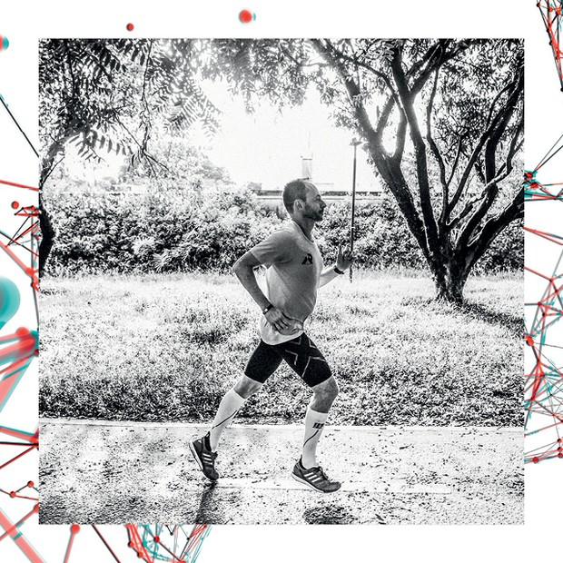 O uso de wearables aumentou a disposição do CEO Valter Lima para a prática de exercícios físicos (Foto: Lucas Lima)