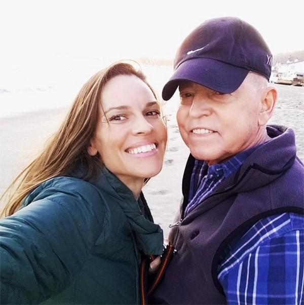 Hilary Swank e Stephenm Swank (Foto: Instagram)