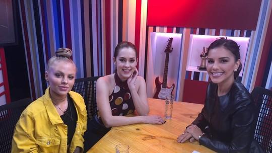 Mariana Rios recebe Sophia Abrahão e Luísa Sonza para comentar a semana do 'The Voice Brasil'