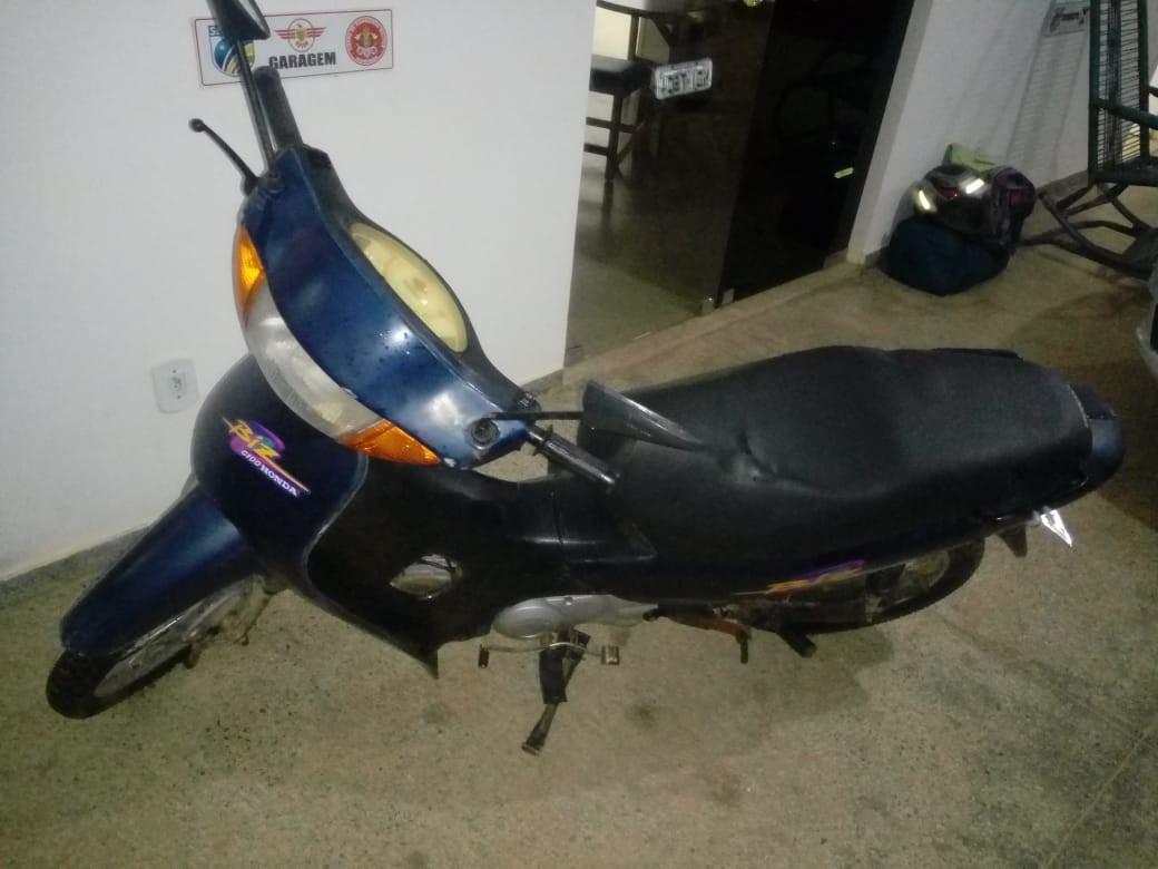 Foragido é recapturado com moto furtada no Vale do Anari, RO