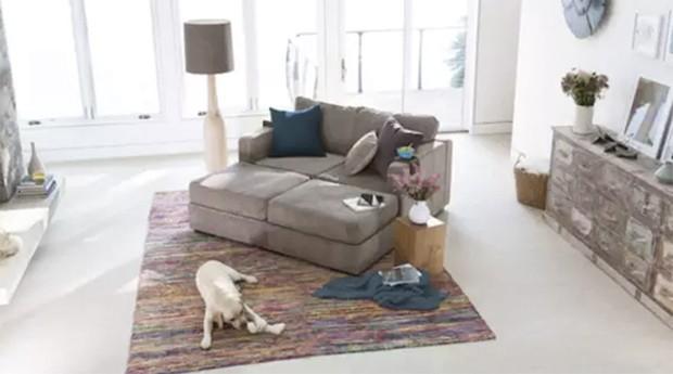 Sofa é modular  (Foto: Divulgação)