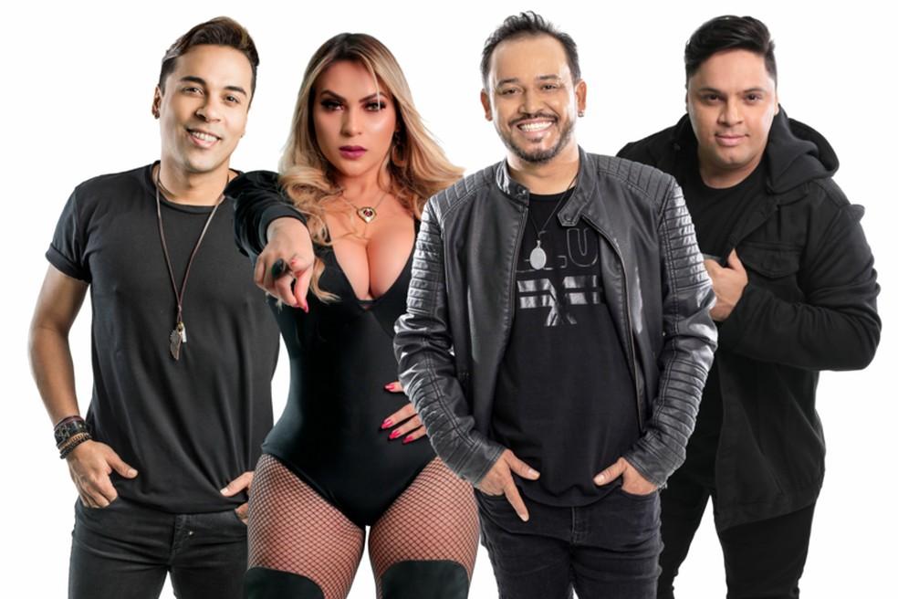 Banda fará show gratuito na Arena das Dunas na próxima quarta-feira (20) — Foto: Divulgação