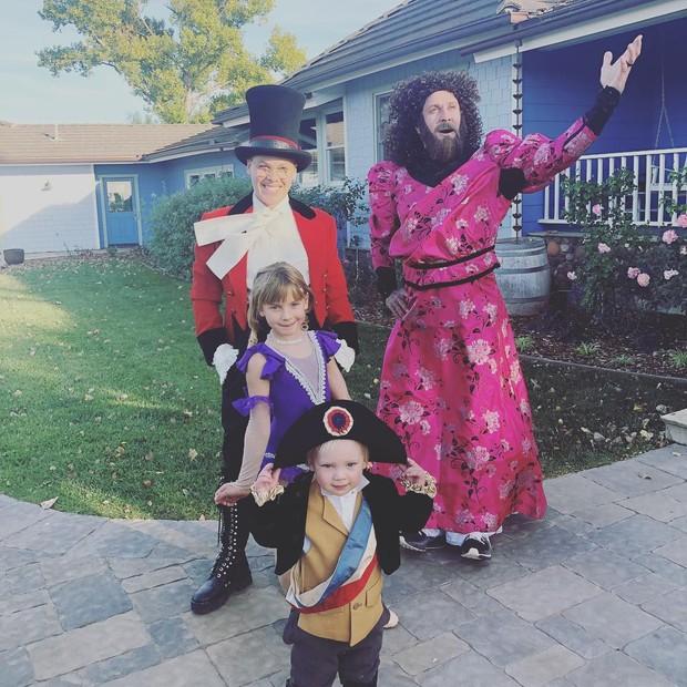 Pink e a família (Foto: Reprodução/Instagram)