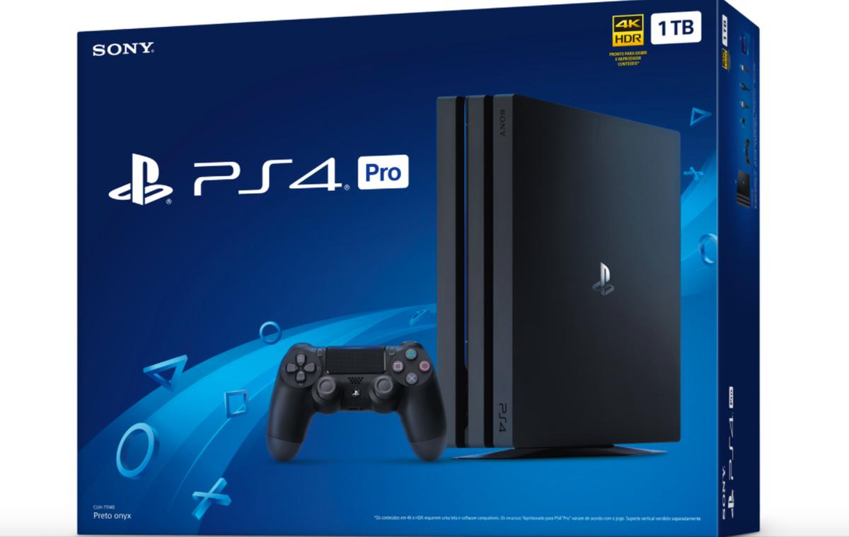 Ps4 Pro Chega Ao Brasil Em Fevereiro Por R 3 Mil Video Game Techtudo