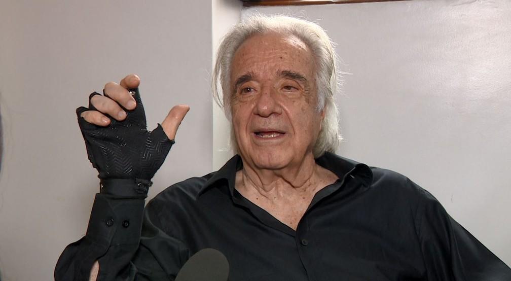Maestro João Carlos Martins fala pela primeira vez sobre projeto que o fez retornar ao piano — Foto: Reprodução/EPTV