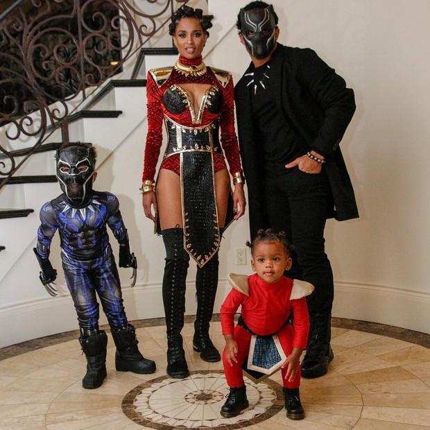 Ciara e a família (Foto: Reprodução/Instagram)