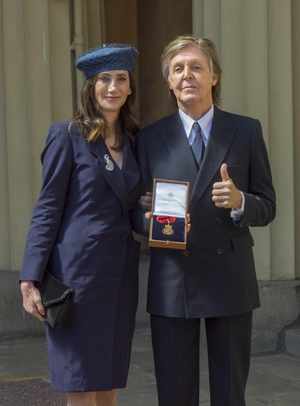 Nancy Shevell e Paul McCartney (Foto: Getty Images)