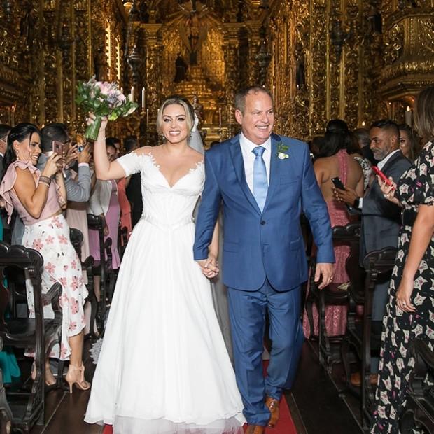 Casamento de Tania Mara e Jayme Monjardim (Foto: Reprodução Instagram)