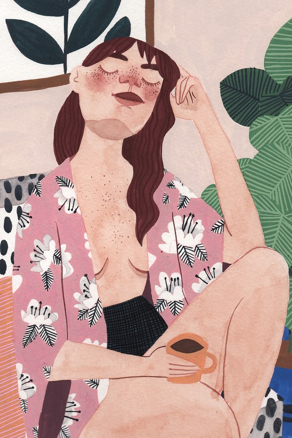 Ilustração de Brunna Mancuso (Foto: Reprodução)