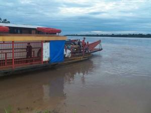 Segundo quartel, indígenas estavam felizes com retorno a aldeias (Foto: Divulgação/54º BIS)