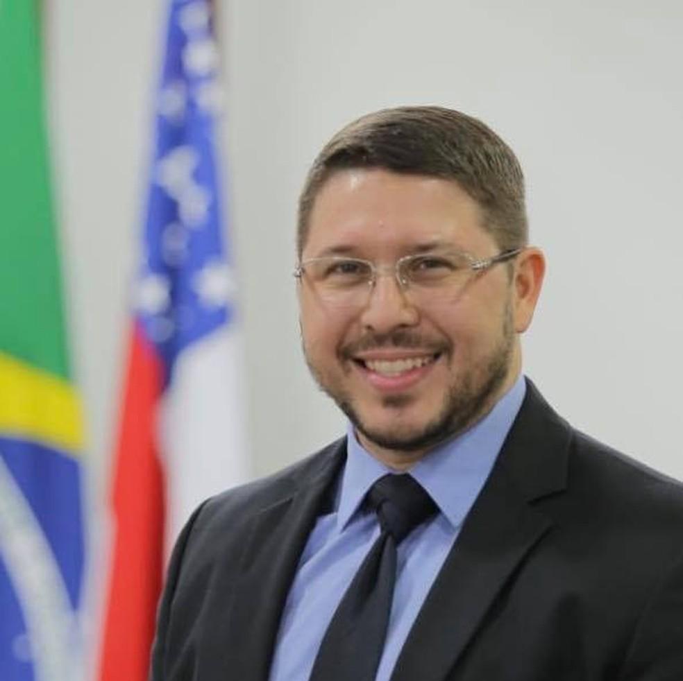 Carlos Almeida, vice-governador do Amazonas. — Foto: Divulgação