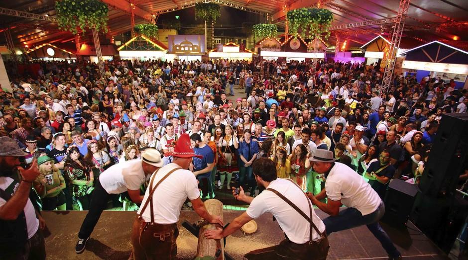 Lançamento dos roteiros será feito na Oktoberfest de Blumenau (Foto: Divulgação)