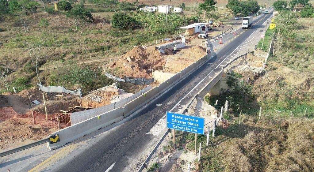 Trecho da BR-101, em Campos, terá  interdições nesta segunda durante içamento de vigas para obras  - Notícias - Plantão Diário