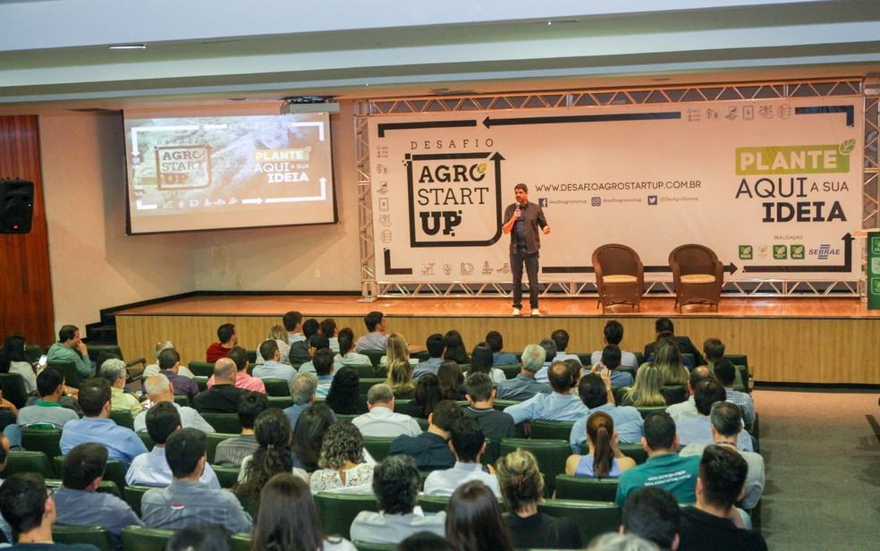 Desafio Agro Startup seleciona 12 proporstas para final de competição (Foto: Fredox Carvalho/Senar/Divulgação)