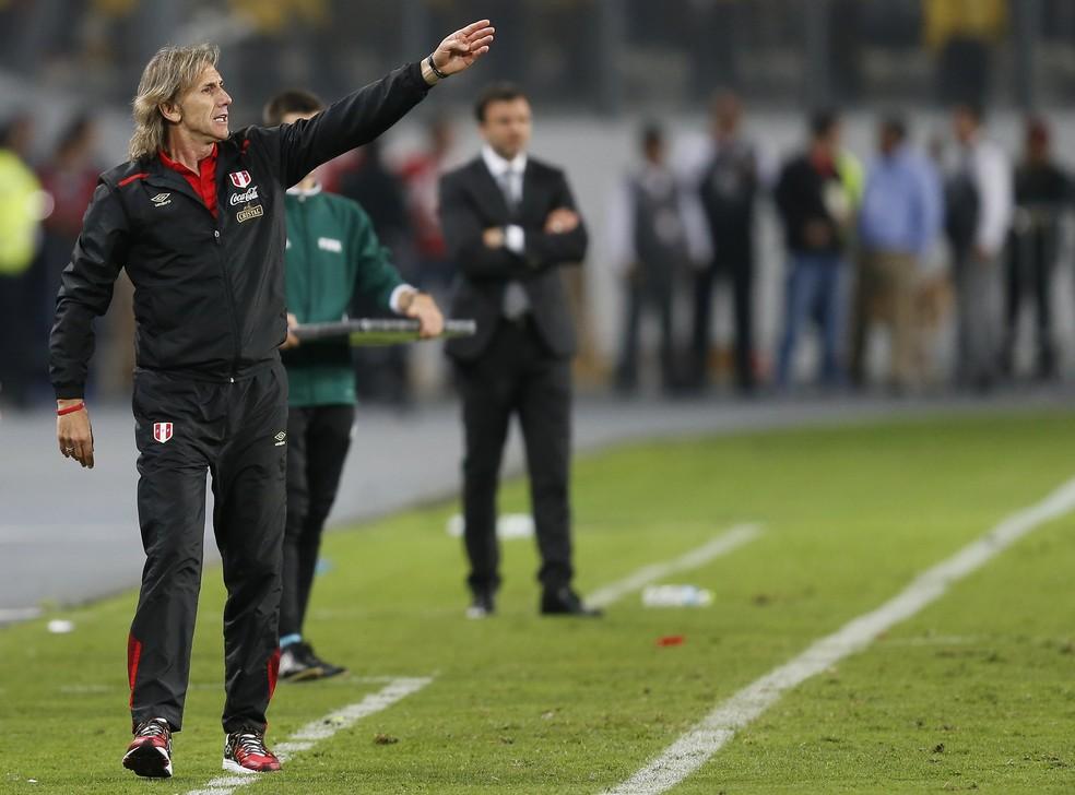 Ricardo Gareca leva a seleção do Peru de volta a uma Copa do Mundo (Foto: AP )