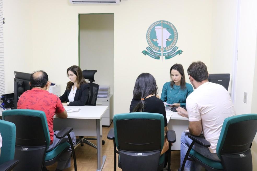 Defensoria Pública do Ceará expande assistência jurídica para cidades do interior do estado — Foto: Divulgação/DPG