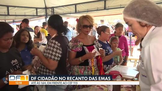 DF Cidadão no Recanto das Emas neste sábado (17)