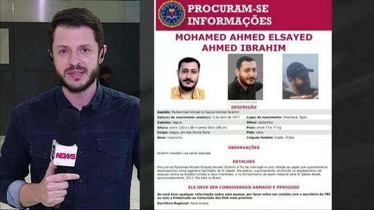 Egípcio procurado pelo FBI se apresenta à PF em São Paulo
