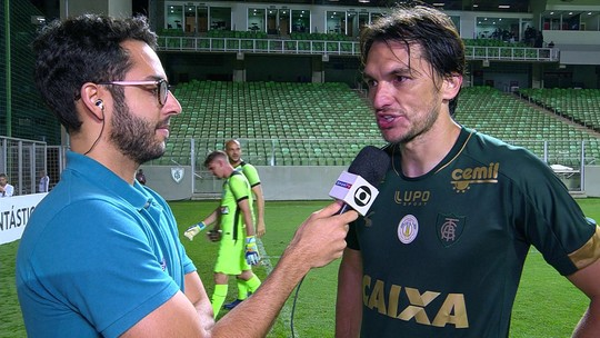 Matheus Ferraz diz que jogo contra o Fluminense será decisivo