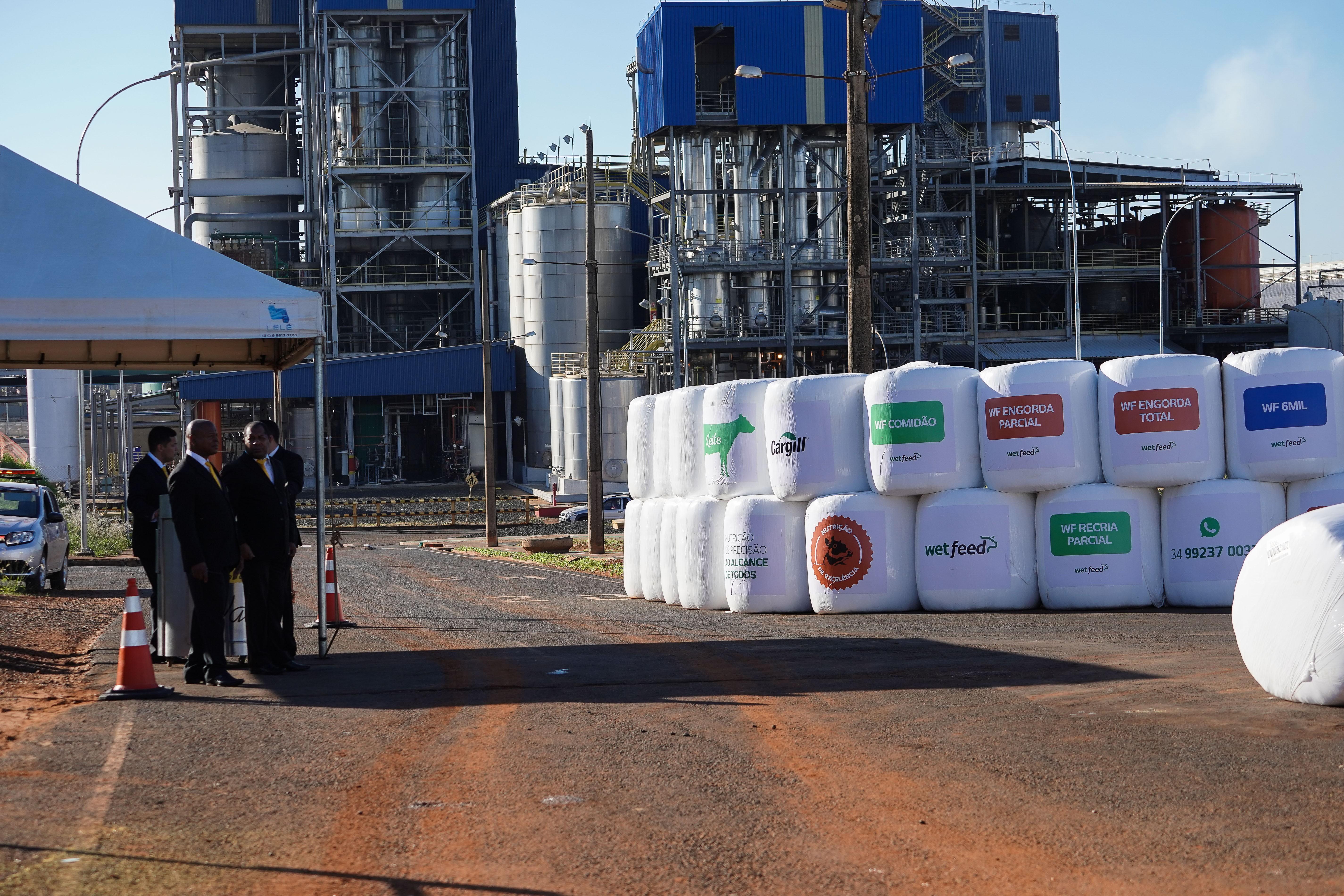cargill-nutrição-ração-amido-fabrica (Foto: Mauro Marques)