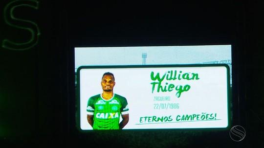 "O adeus ao ""zagueiro artilheiro"": Sergipe se despede de Willian Thiego"