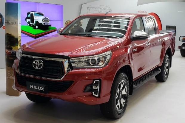 Toyota Hilux 2019 (Foto: Tabatha Benjamin / Autoesporte)