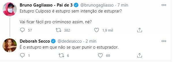 Bruno Gagliasso posta sobre Mariana Ferrer (Foto: Reprodução/Instagram)