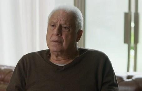 Na quarta-feira (4), Alberto (Antonio Fagundes) repreenderá Marcos por pensar em abrir mão de Paloma por causa dele TV Globo