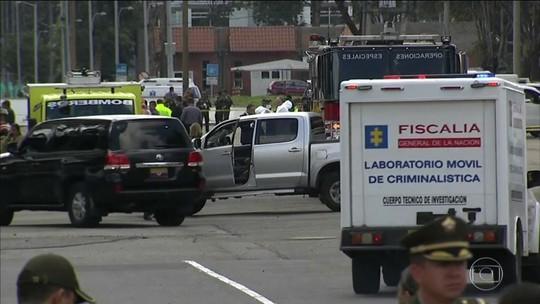 Explosão de carro-bomba em Bogotá deixa mortos e feridos
