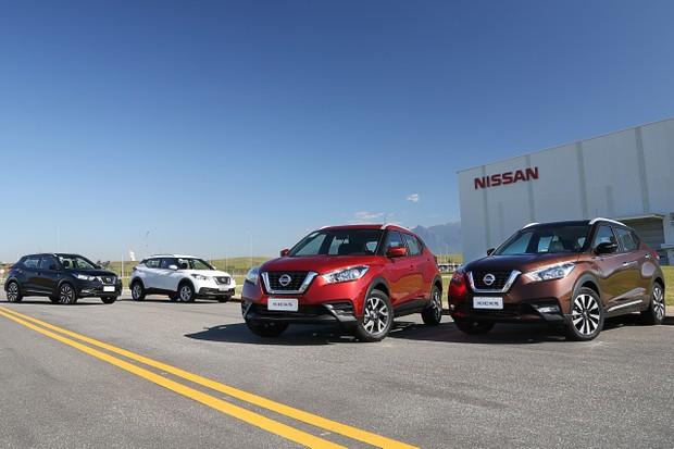 Nissan Kicks passa a ter Android Auto e Apple Car Play desde a versão de entrada S (Foto: Divulgação)