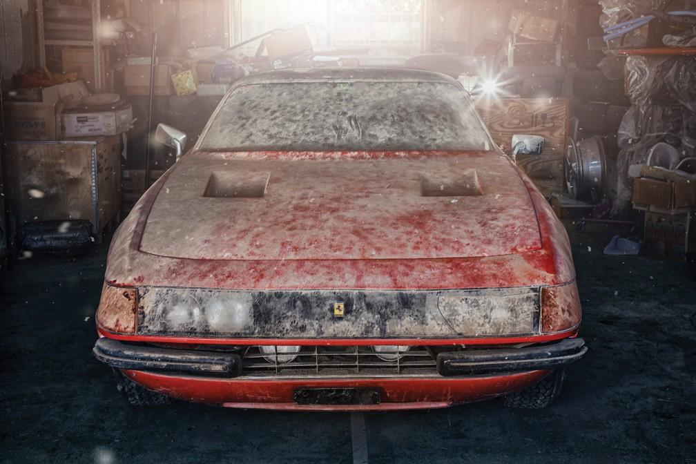 1969 Ferrari 365 GTB/4 Daytona Berlinetta Alloy by Scaglietti (Foto: Divulgação/RM Sotheby's)