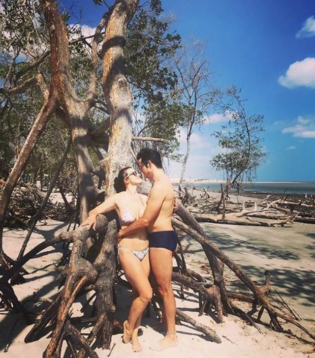 Paula Braun e Mateus Solano (Foto: Reprodução/Instagram)