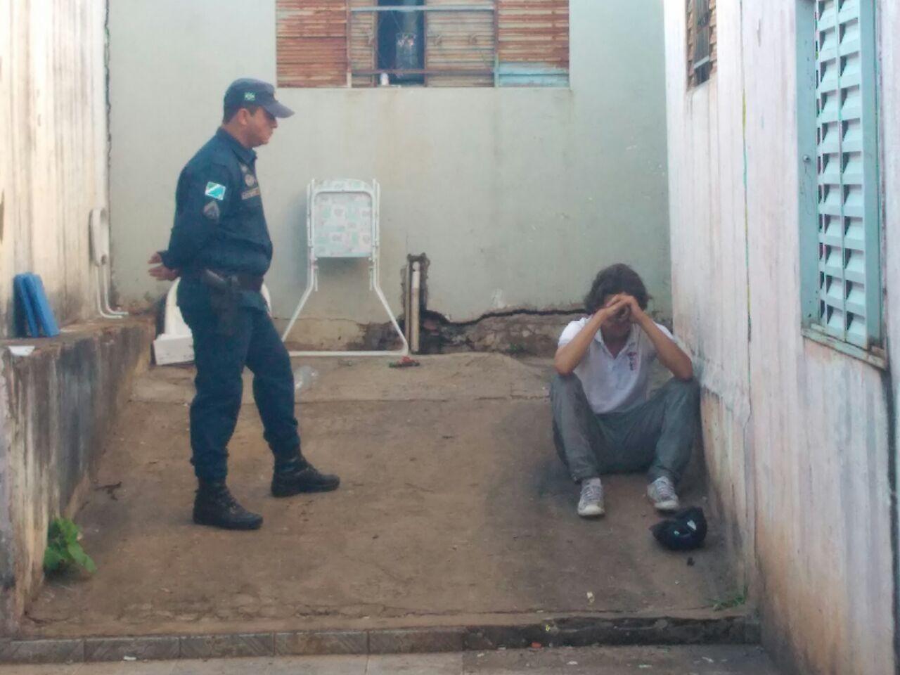 Colombiano é preso ao ferir e tentar incendiar casa da ex-mulher em MS, diz polícia