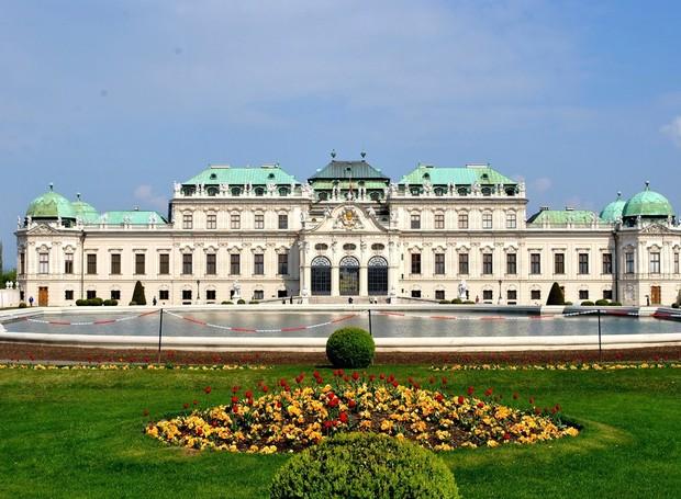 Palácio Belverde, Áustria (Foto: Trip101/ Reprodução)
