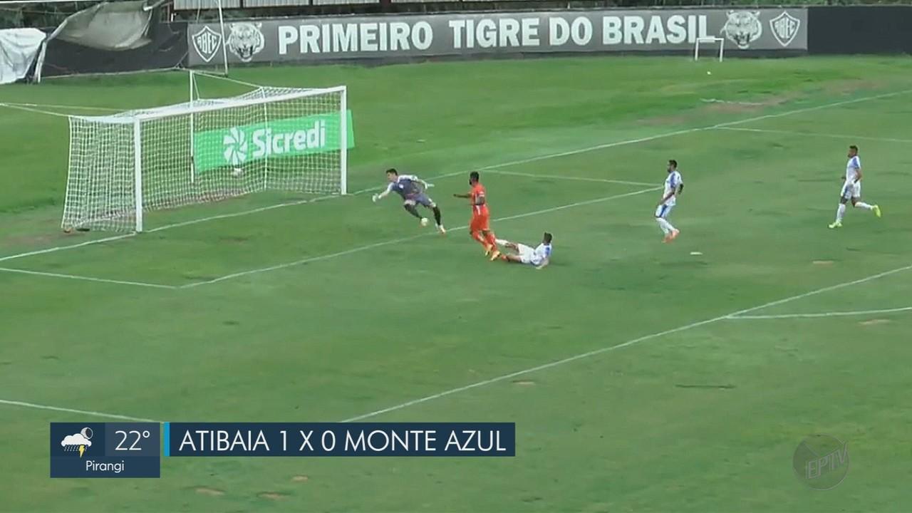 Monte Azul perde para o Atibaia na estreia da A2 do Paulista
