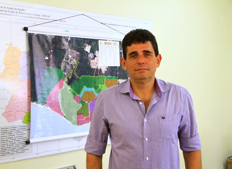 Ivan Burity, secretário executivo de Turismo da Paraíba — Foto: Rizemberg Felipe/Jornal da Paraíba