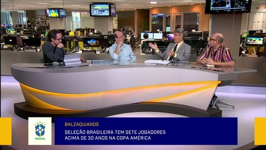 """Jornalistas do Redação SporTV debatem renovação na Seleção: """"Preocupação é ganhar essa"""""""