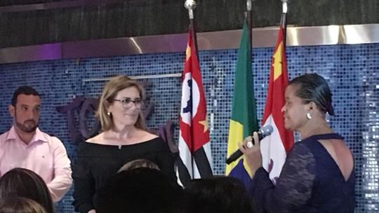 Rosana Valle recebe homenagem no Prêmio 'Mulher Caiçara'