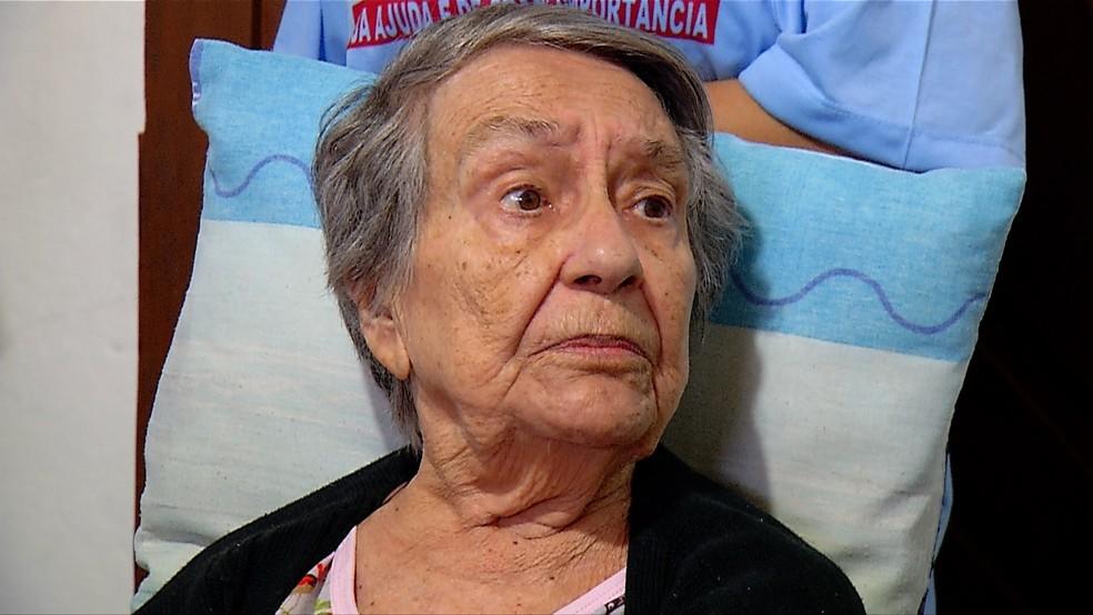 Maria Salete fará 80 anos no dia 31 de agosto (Foto: Inter TV Cabugi/Reprodução)
