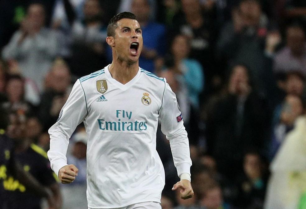 Cristiano Ronaldo em ação pelo Real Madrid este ano (Foto: Reuters)