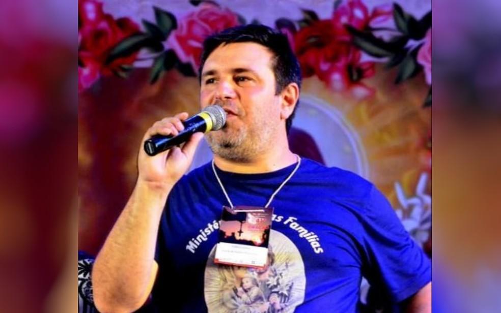 Cantor e radialista Fábio Cunha morre aos 46 anos de Covid-19, em Goiânia — Foto: Reprodução/Instagram