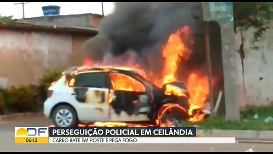Perseguição Policial na Asa Sul e em Ceilândia